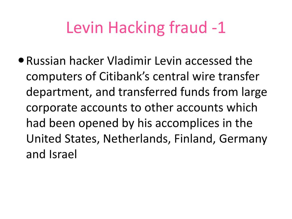 Interface Between Criminal Law Cyber Crimes Ppt Download Wiring Instructions For Citibank 72 Levin