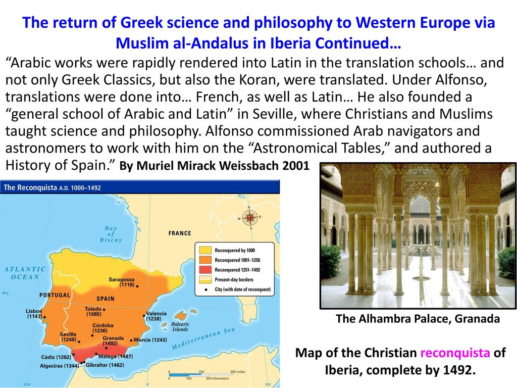 Image result for greek science and philosophy muslim al-andalus in iberia
