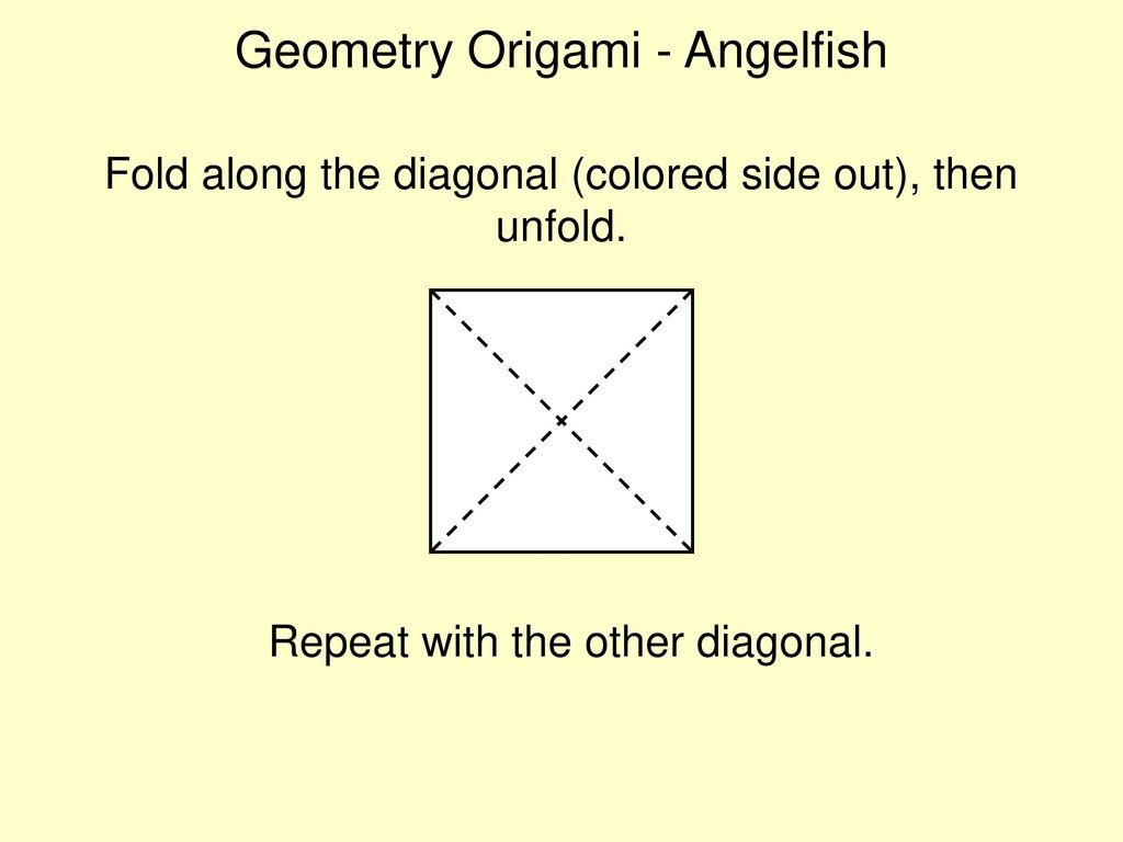 Origami Angelfish   Origami angelfish, Origami, Paper crafts for kids   768x1024