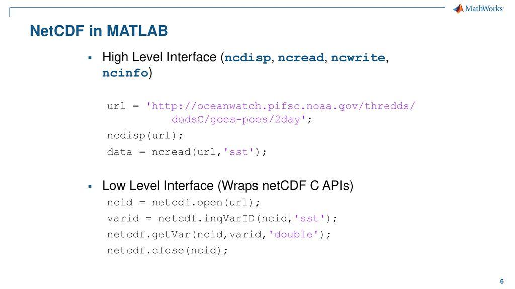MATLAB, Big Data, and HDF Server - ppt download