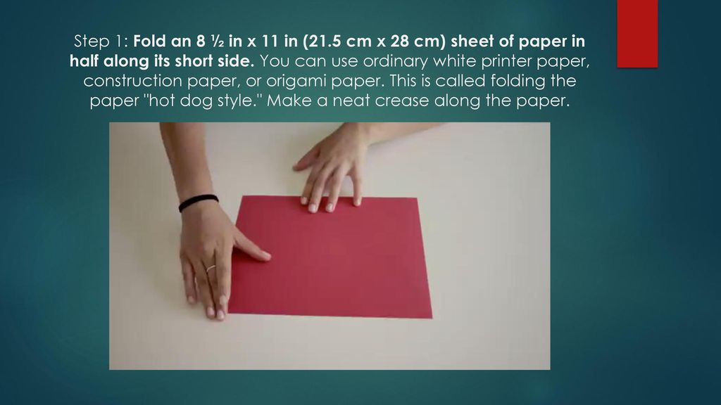 How To Make A Paper Boat Ppt Download