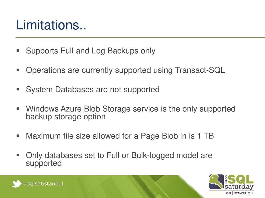 Backups for Azure SQL Databases and SQL Server instances