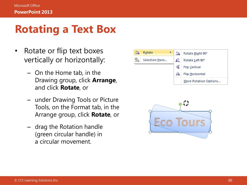 Lesson 3: Working with Text - ppt download