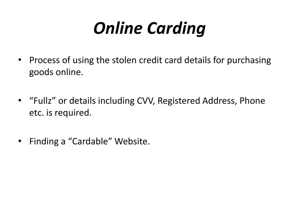 Icq Carding Group 2019