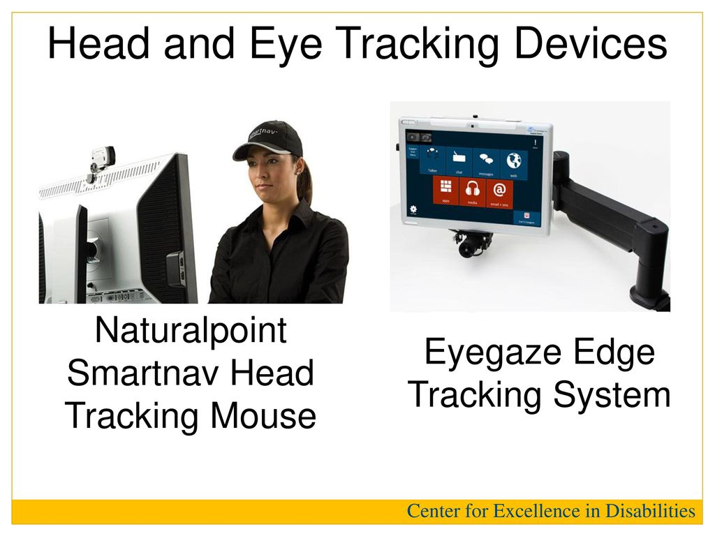 Head and Eye Tracking Devices