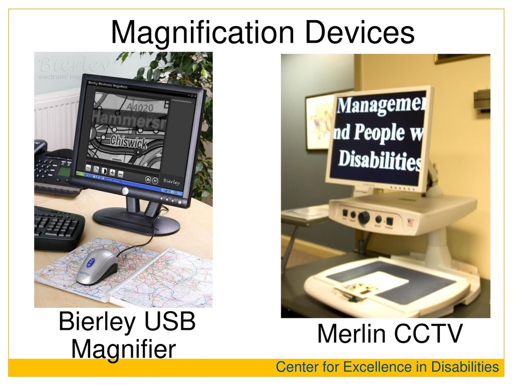 Magnification Devices