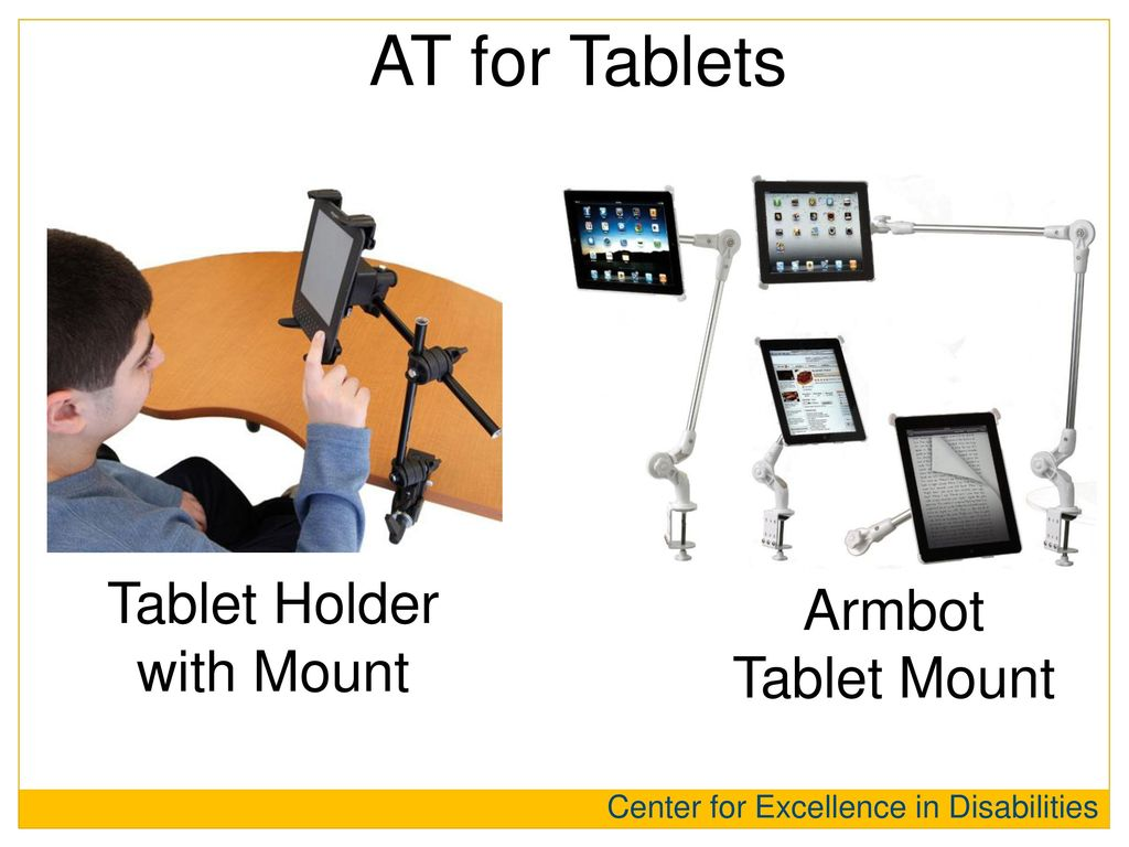 Tablet Holder with Mount