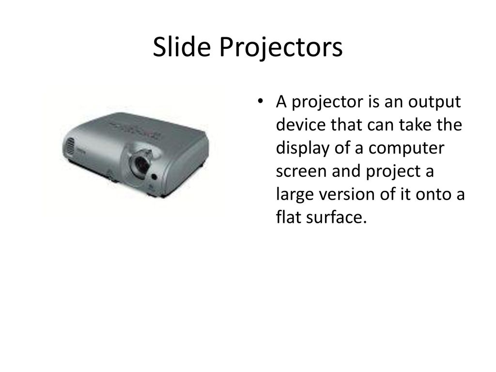 Hardware: Input / Output Devices - ppt download