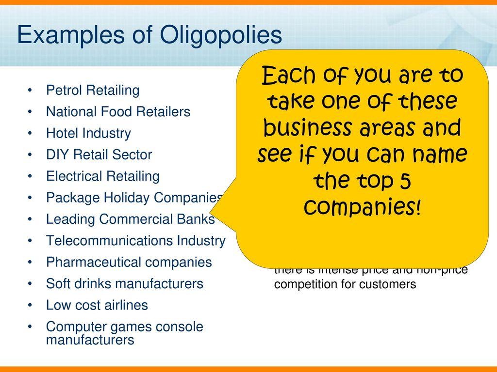 pharmaceutical industry oligopoly
