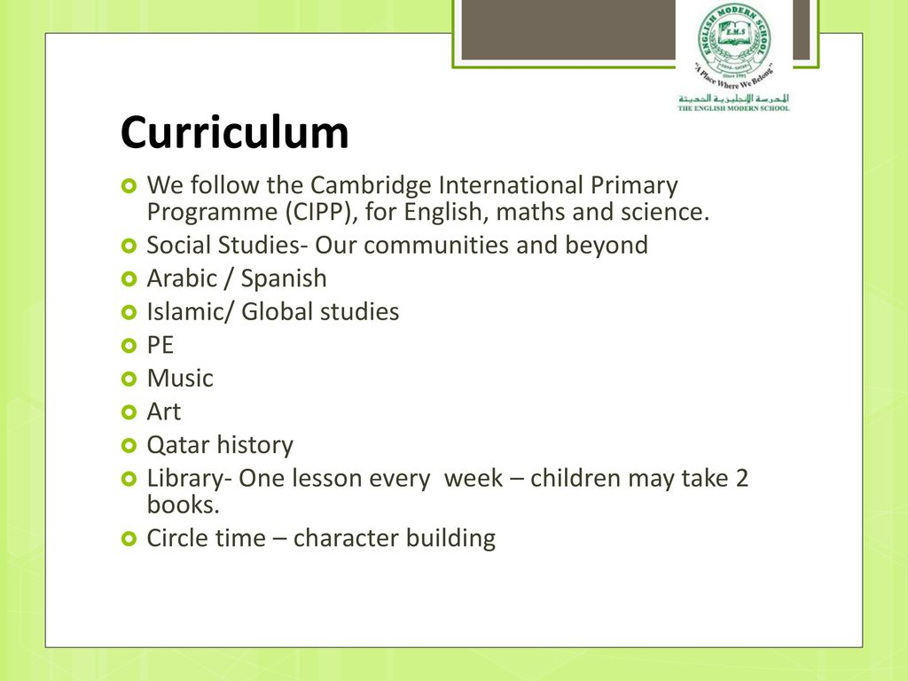 English Modern School Parents Evening - ppt download