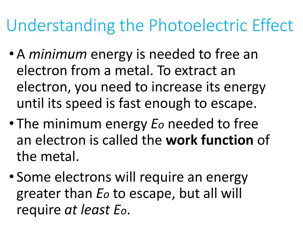 Electron Diffraction & Photoelectric Effect - ppt download