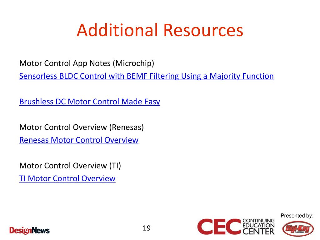 Hands-On Design of BLDC Motor Control with Microchip MCUs