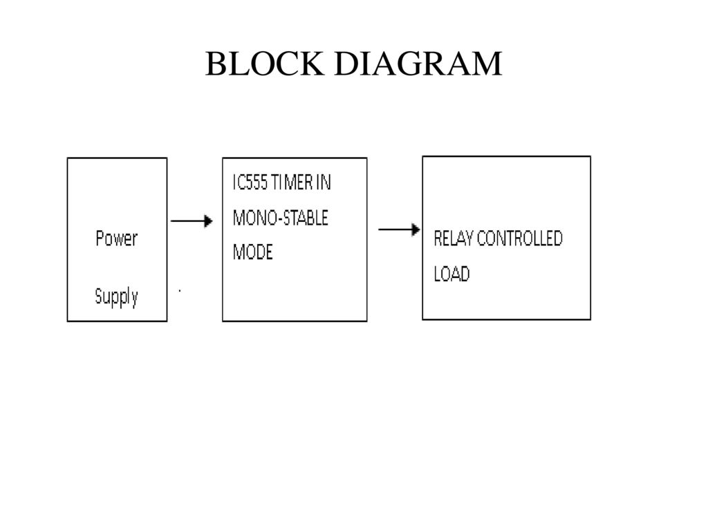 Time Delay Based Relay Operated Load Ppt Download Dark Activated Switch Using Ne555 Ic Circuit Diagram 3 Block