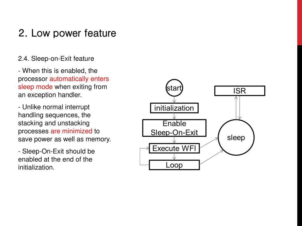 Low Power and System Control Features - ppt download