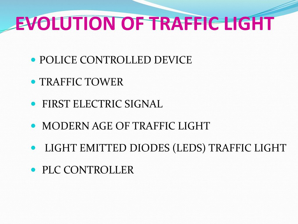 Plc Based Automatic Traffic Signal Control Ppt Video Online Download Intelligent Controller With Block Diagram Evolution Of Light