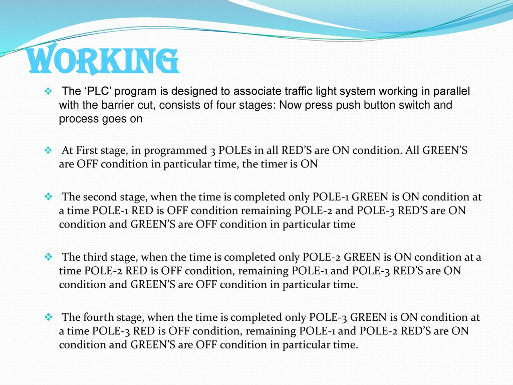 PLC BASED AUTOMATIC TRAFFIC SIGNAL CONTROL - ppt video online download