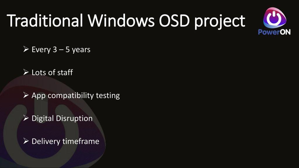 Moving to Windows 10 Vishal Ladwa – PowerONPlatforms Consultant