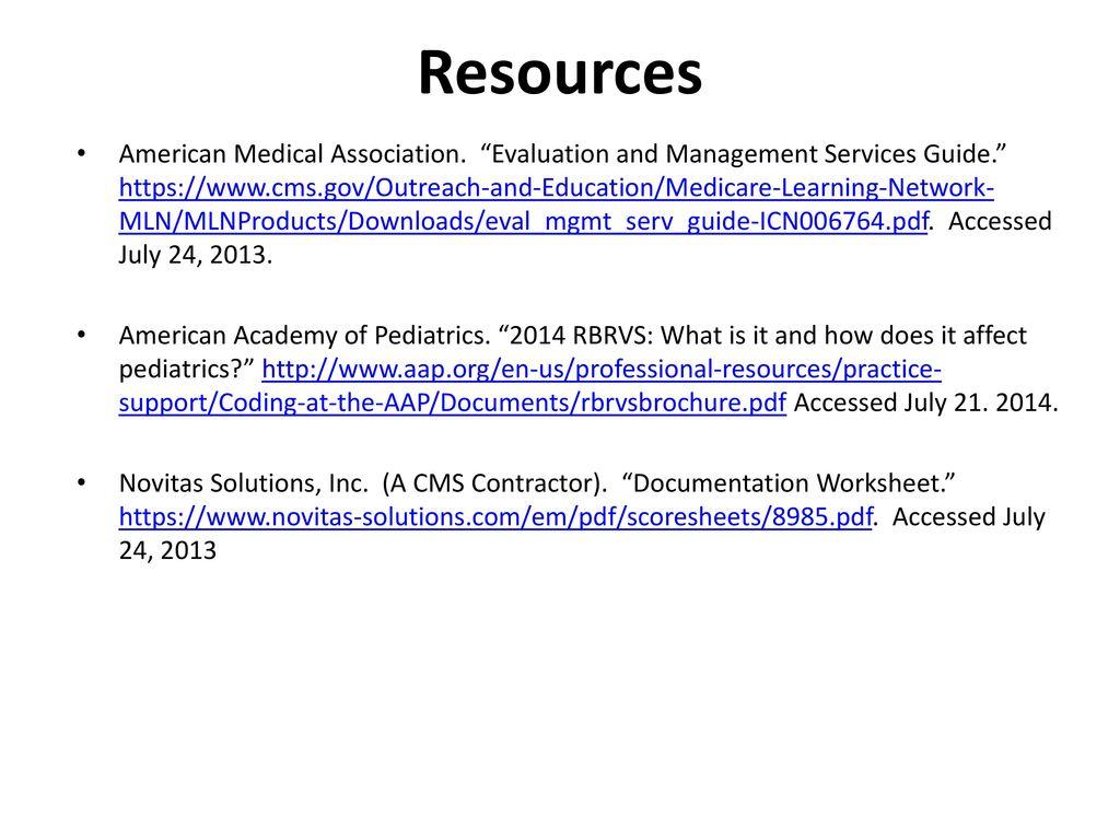 Billing Coding Tim Shope Md Mph General Academic Pediatrics