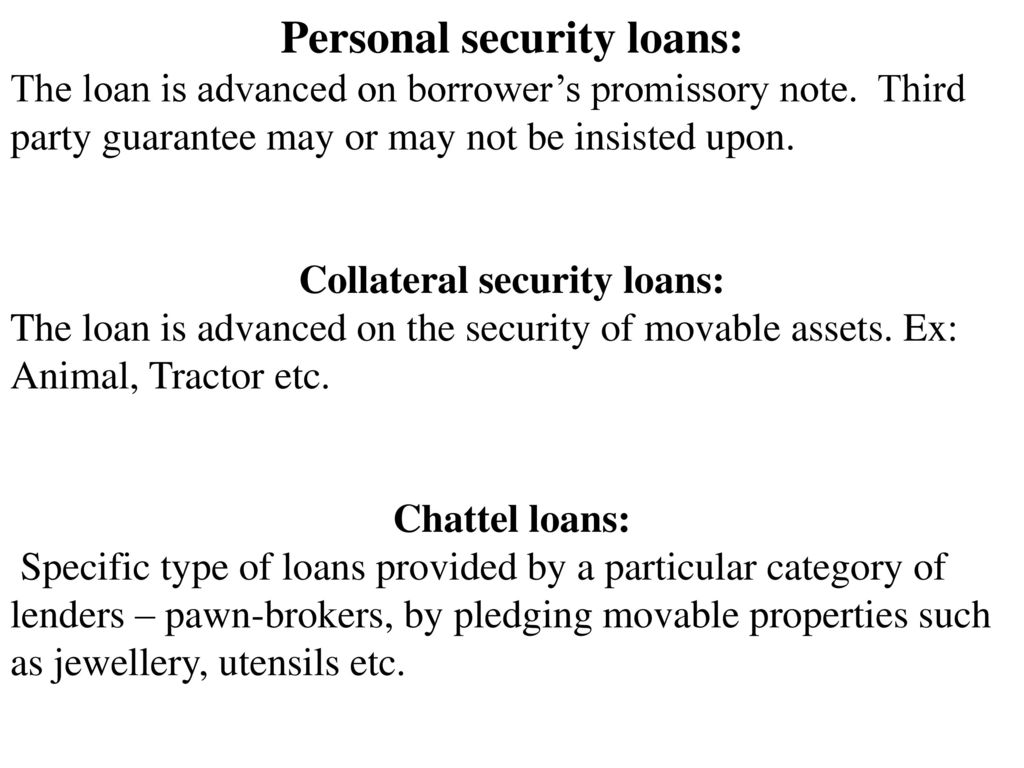 secured loan definition: section 5 (i, h) of banking regulation act