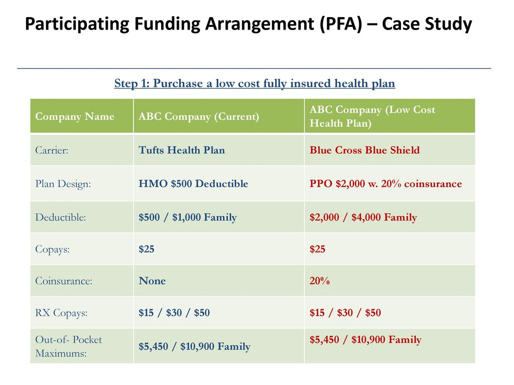 The Participating Funding Arrangement Pfa Ppt Download