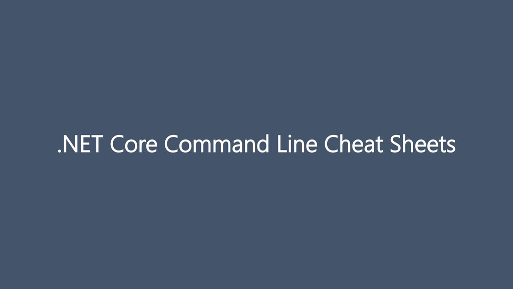 DevOps with ASP NET Core and Entity Framework Core - ppt