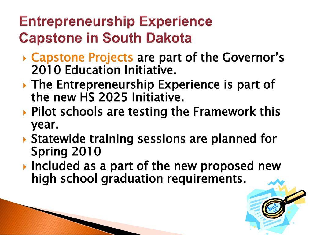 Entrepreneurship Experience Capstone - ppt download