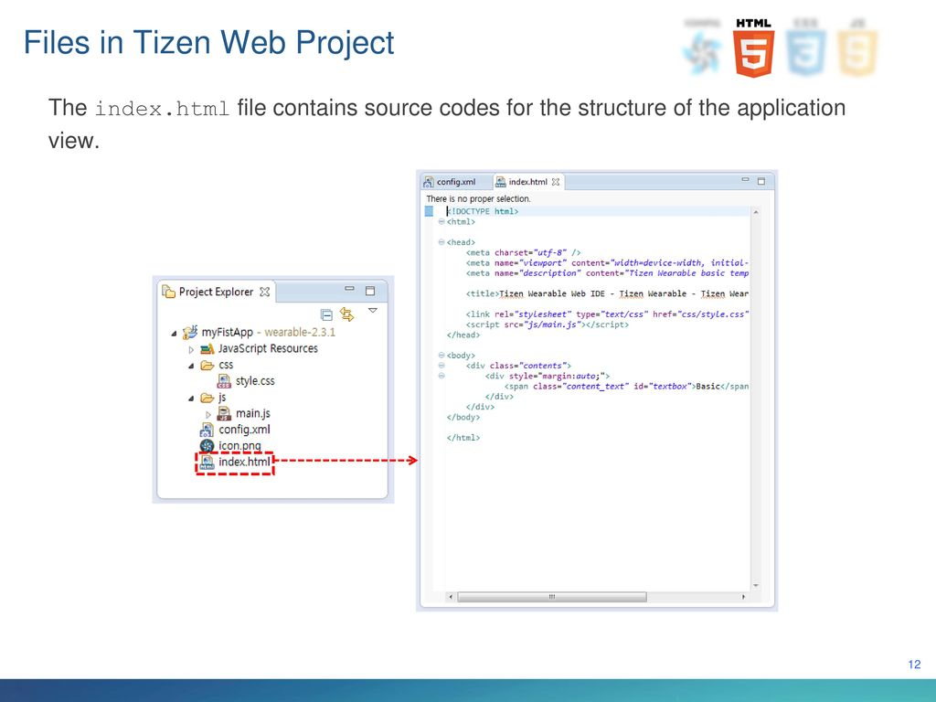 Developing Tizen Web Applications - ppt download