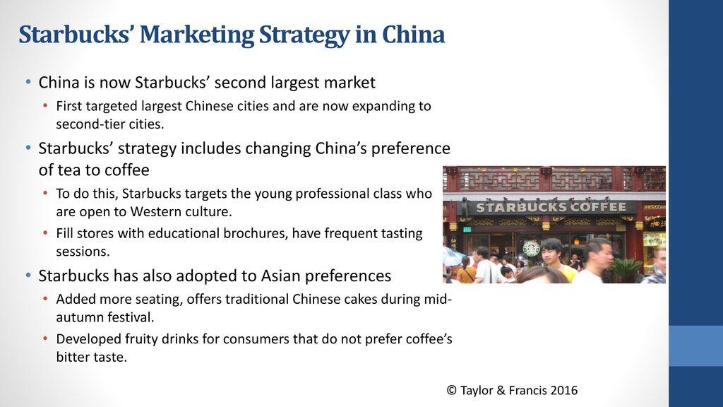 starbucks strategy in china