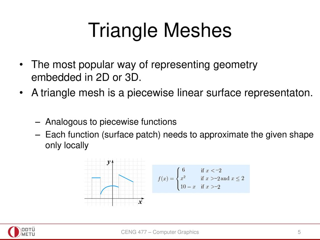 CENG 477 Introduction to Computer Graphics - ppt download
