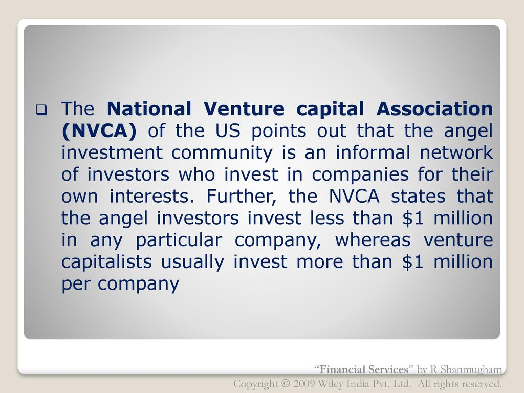 Chapter 8 Venture Capital Ppt Download