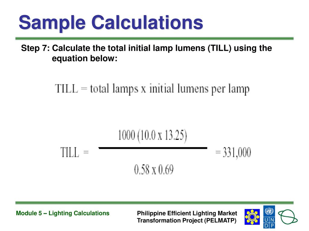 Module 5 Lighting Calculations Ppt Download