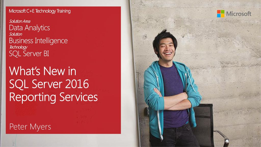 What's New in SQL Server 2016 Reporting Services - ppt download