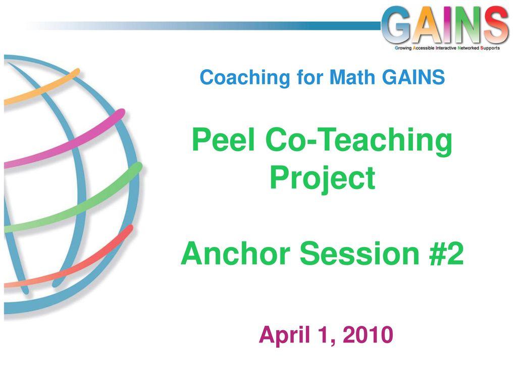 peel teaching