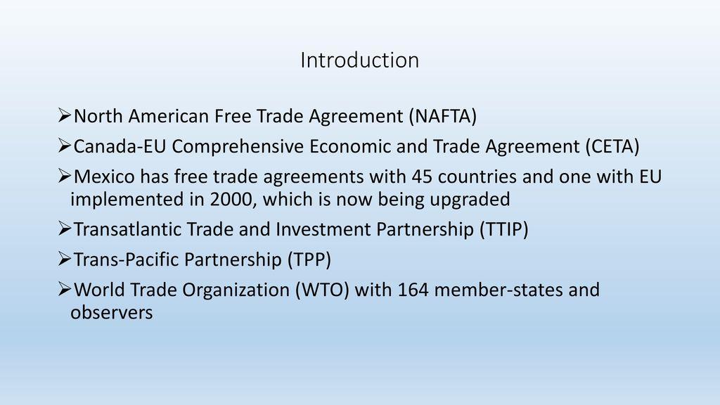 Trump Canada And The Future Of Nafta Ppt Download