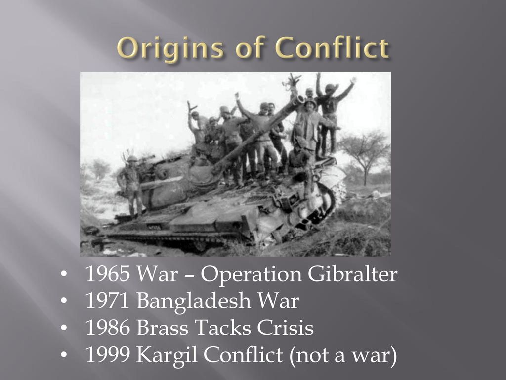 Nuclear conflict in south Asia - ppt download