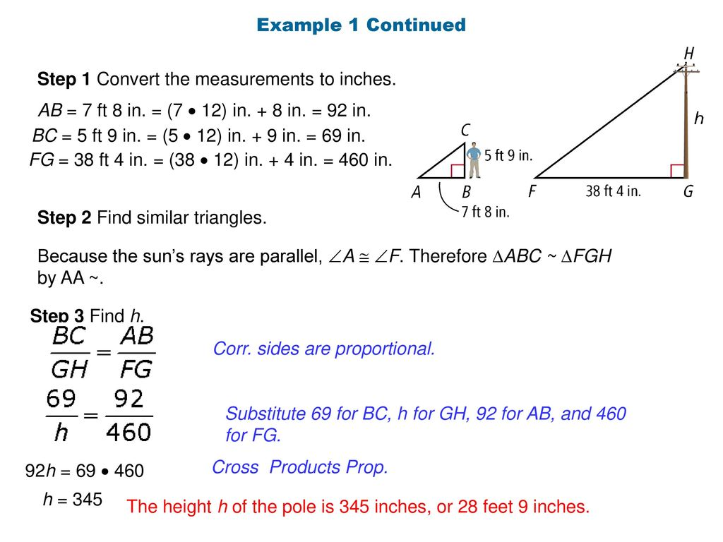 Warm Up Convert Each Measurement Ft 3 In To Inches Ppt Download