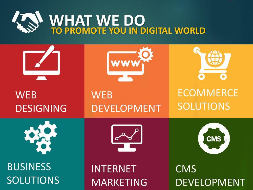 WEB DESIGN, DEVELOPMENT & DIGITAL MARKETING COMPANY - ppt download
