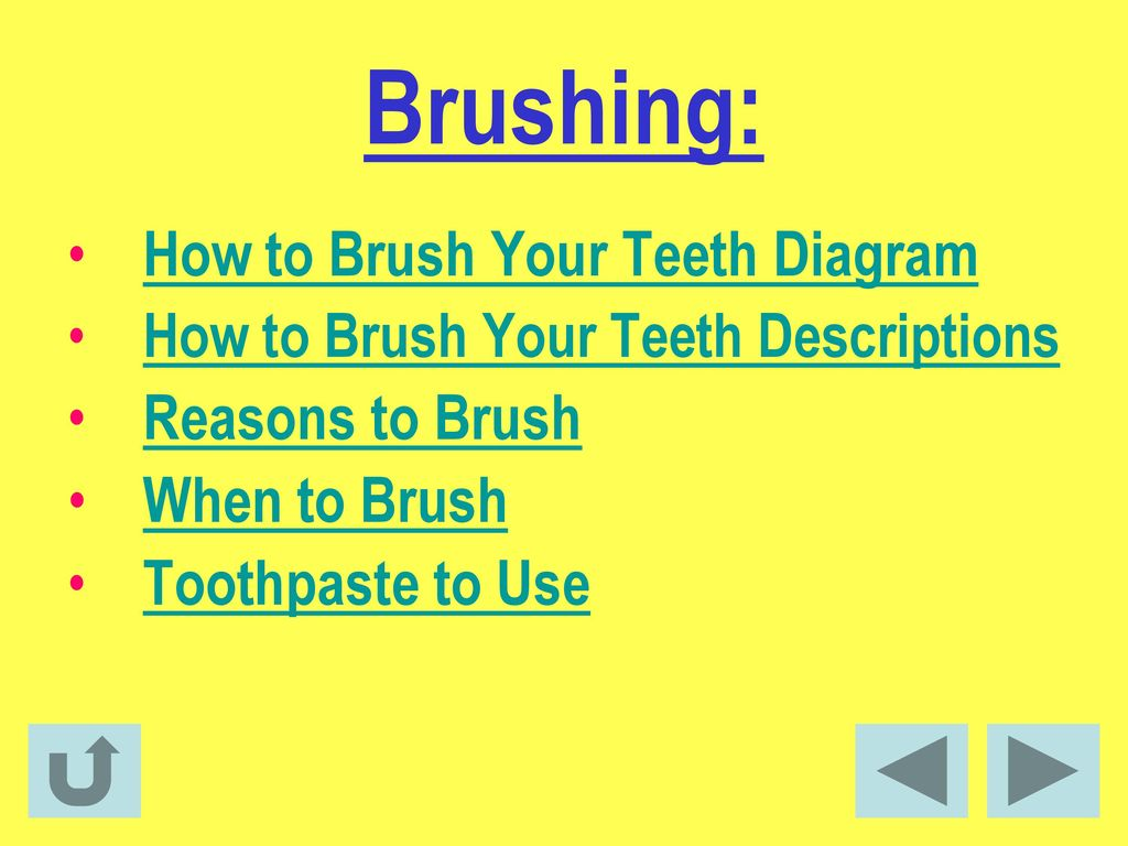 Facts about dental health ppt download 12 brushing how to brush your teeth diagram ccuart Gallery