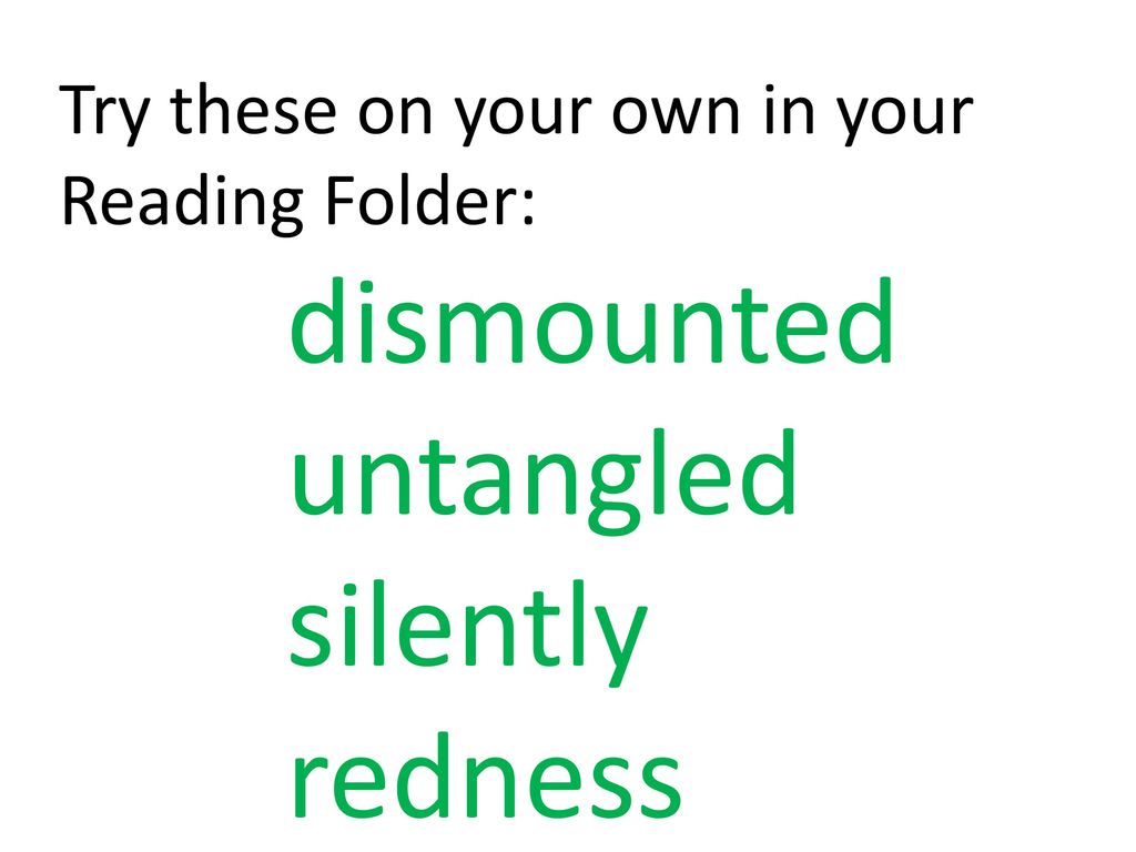 15 untangled silently redness