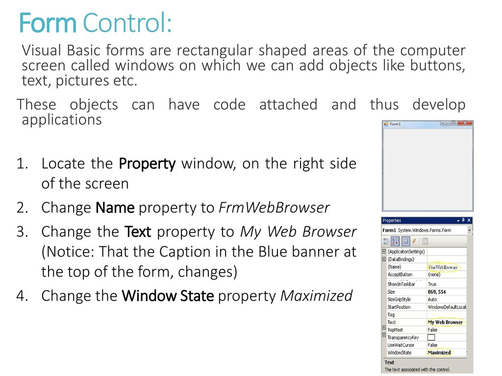 Computing and Information Technology Building a Web Browser - ppt