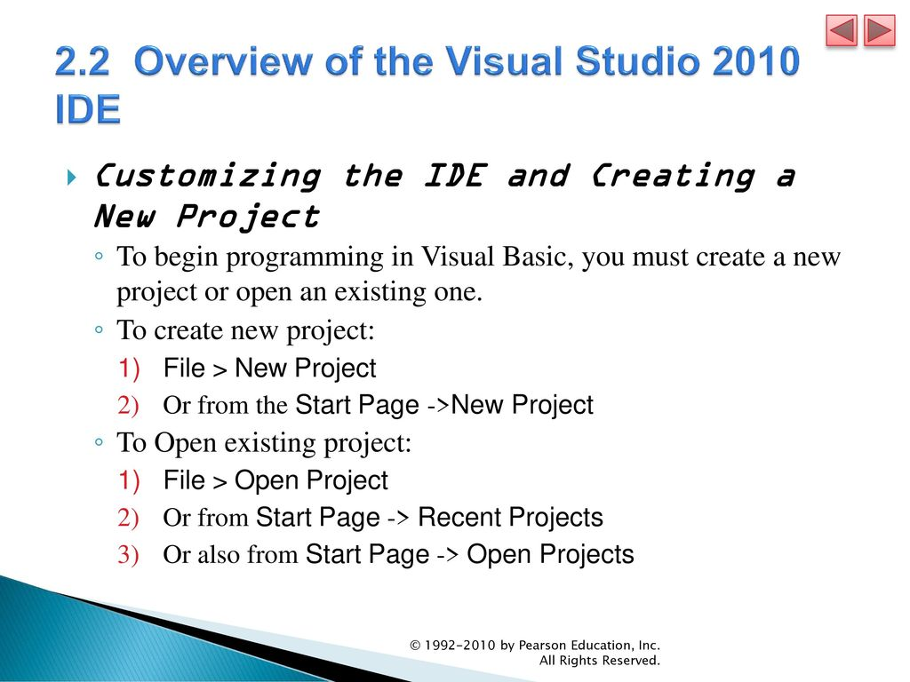 Dive Into® Visual Basic 2010 Express - ppt video online download