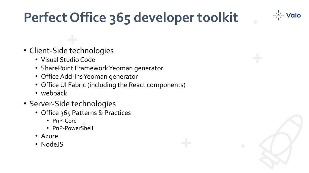 From SharePoint to Office 365 Development - ppt video online