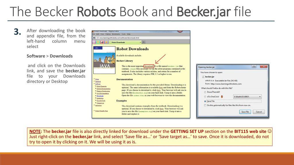 Downloading & Installing the BIT115 Software & Programs
