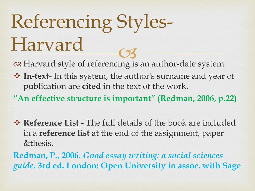 references in essay writing Apa essay checklist for students the american psychological association (apa) is one of the largest scientific and professional associations in the united states, and it has created a set of citation rules and formatting guidelines for scholarly writing to ensure a professional standard of academic integrity.