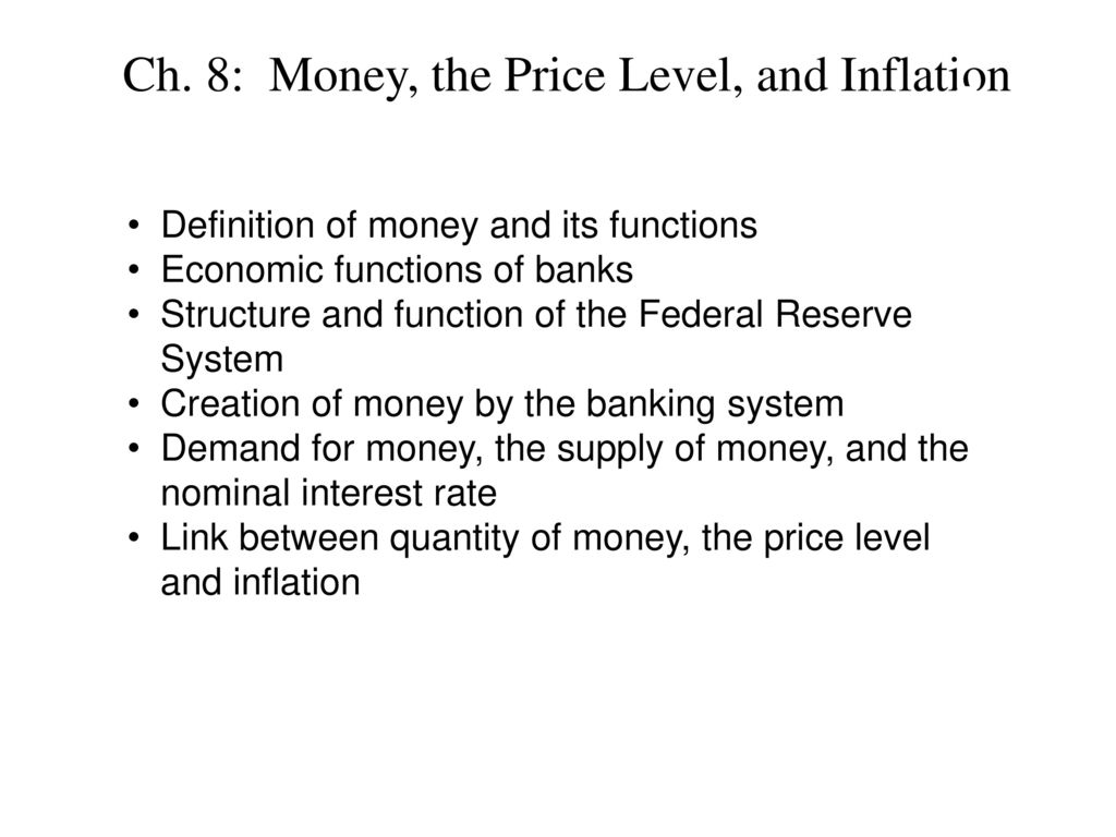 Money and their functions