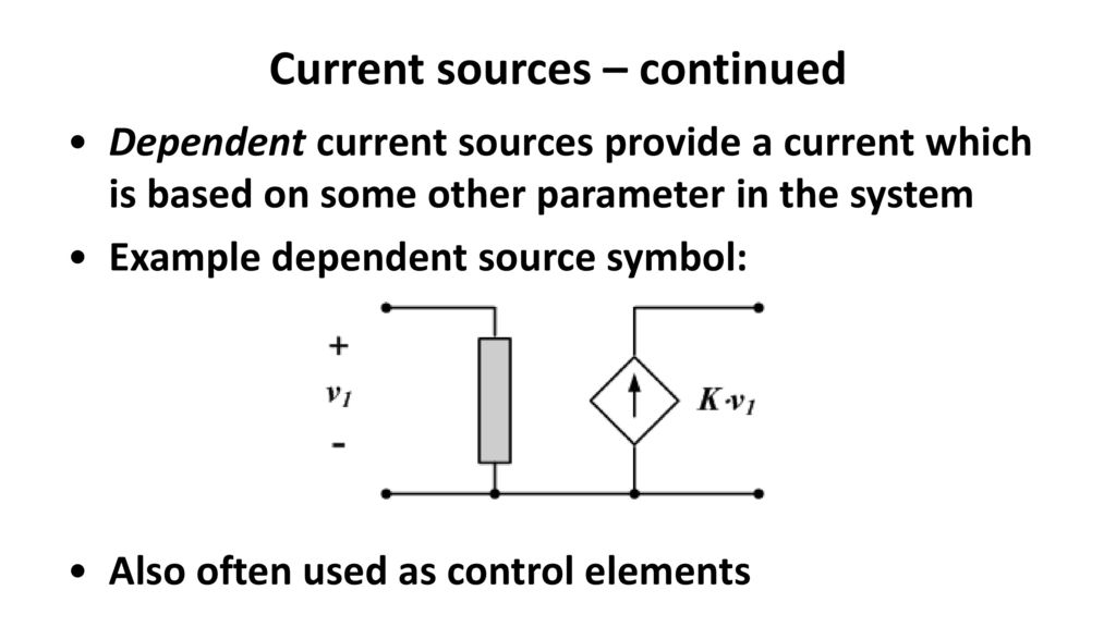 Current Source Symbol Image collections - free symbol and sign meaning