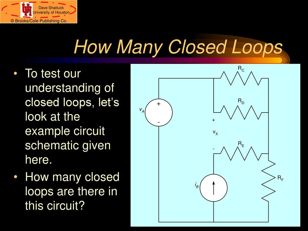Ece 1100 Introduction To Electrical And Computer Engineering Ppt Let S Look At The Schematic Rf Input Directly Connected Over How Many Closed Loops Test Our Understanding Of Lets