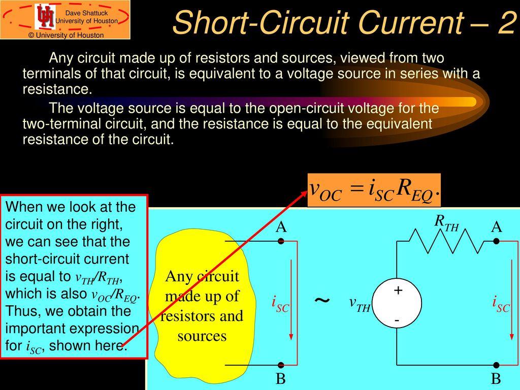 Associate Professor Ece Dept Ppt Download Figure 2 Shortcircuit Current I Sc Opencircuit Voltage V Oc 13 Short Circuit