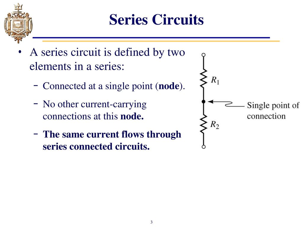 Lesson 4: Series DC Circuits and Kirchhoff\'s Voltage Law (KVL) - ppt ...
