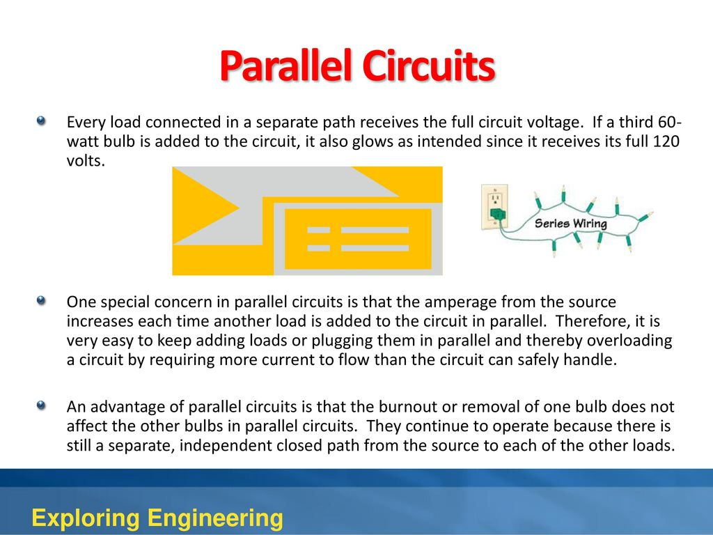 4th Edition Chapter 10 Electrical Engineering Ppt Download The Amperage In A Series Circuit Is Parallel Circuits Exploring